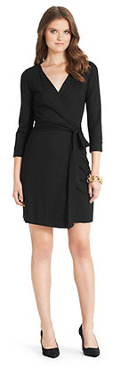 Diane von Furstenberg New Julian Two Mini Jersey Wrap Dress