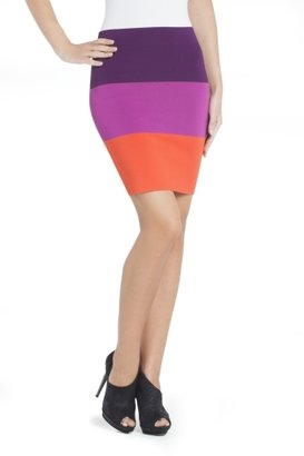 BCBGMAXAZRIA Scarlett Color-Blocked Pencil Skirt