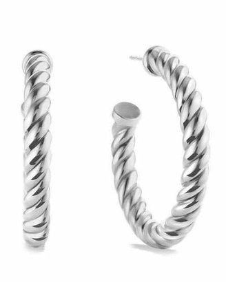David Yurman Cable Classics Hoop Earrings $325 thestylecure.com