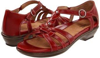 Dansko Calliope (Red Full Grain) - Footwear