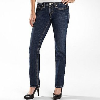 JCPenney a.n.a® Thick-Stitch Bootcut Jeans - Petite