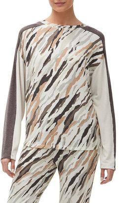 Michael Stars Zephyr Drop-Shoulder Colorblock Pullover