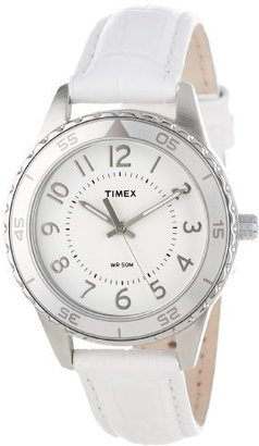 "Timex Women's T2P022KW ""Ameritus"" Watch with Leather Band $54.95 thestylecure.com"