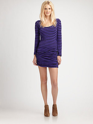 Splendid Striped Scoopneck Dress