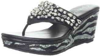 Grazie Women's Dazzle Wedge Pump