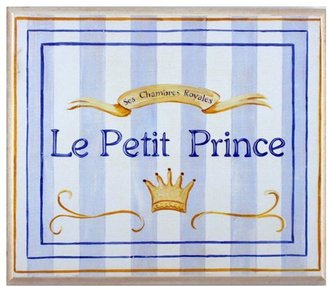 Le Petit Prince Stupell Industries The Kids Room Square Wall Plaque