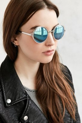 Both Worlds Round Sunglasses $18 thestylecure.com