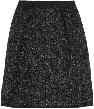 Marc Jacobs Metallic bouclé wool-blend skirt