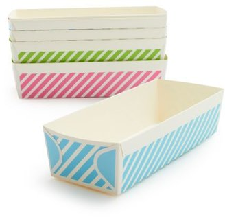 Sur La Table Striped Paper Loaf Molds, Set of 6