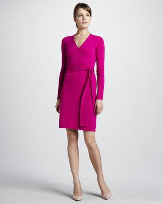 Diane von Furstenberg Linda Wrap Sweaterdress