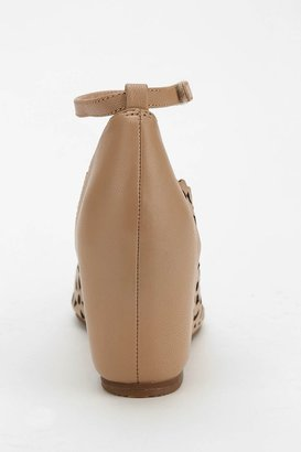 Jeffrey Campbell Daisy Ankle-Strap Wedge Heel
