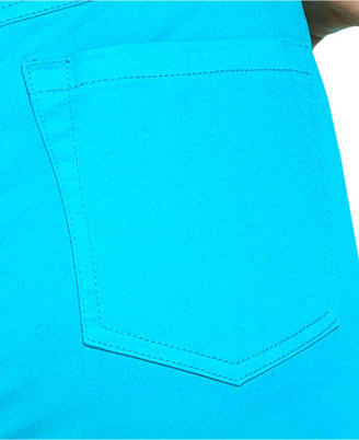 INC International Concepts Plus Size Jeans, Skinny-Leg, Tropical Teal Wash
