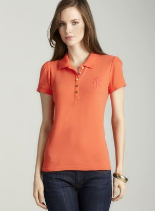 Juicy Couture Polo Shirt With Puff Sleeve