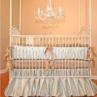 Hudson Silk Crib Bedding Set