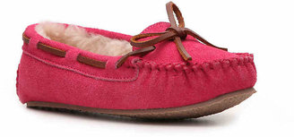 Minnetonka Girls Cassie Girls Toddler & Youth Moccasin -Tan