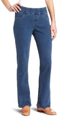 Lee Women's Natural Fit Pull-on Barely Bootcut Jeans