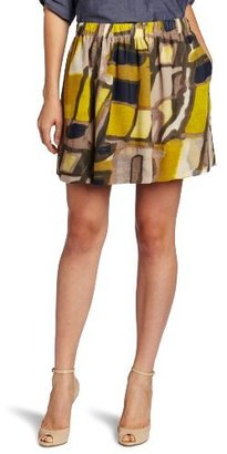 Kenneth Cole Women's Urban Sprawl Print Skirt