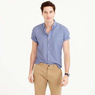 Short-sleeve oxford shirt $54.50 thestylecure.com