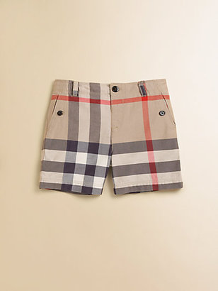 Burberry Infant's Check Shorts
