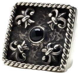Femme Metale Jewelry 4 Fleur De Lis Ring