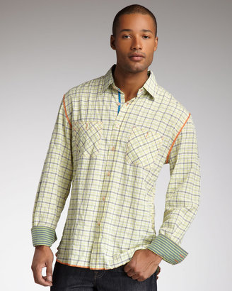 Arnold Zimberg Plaid Shirt