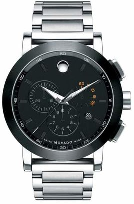 Movado 'Museum Sport' Chronograph Bracelet Watch, 44mm