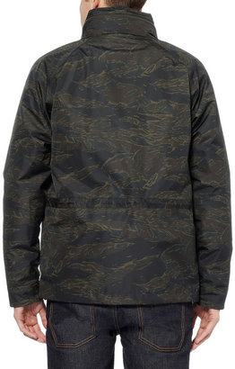Aspesi Printed Jacket with Detachable Quilted Lining