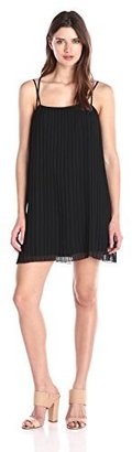 BCBGeneration Women's Strappy Pleated Dress