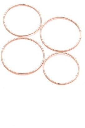 Gabriela Artigas Rose Simple Band Rings