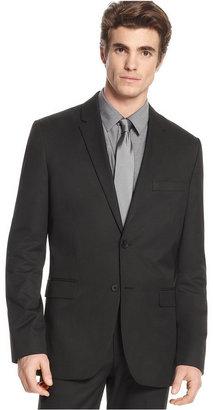 Calvin Klein Men's Blazer, Slim Fit Two Button Blazer $119.98 thestylecure.com