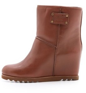 Marc by Marc Jacobs Snow Booties on Hidden Wedge