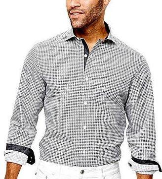 Claiborne Cotton Button-Front Shirt