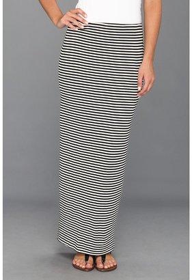 Bailey 44 Long Shogun Skirt (Black/White) - Apparel