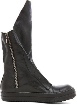 Rick Owens Ramones Boot in Black