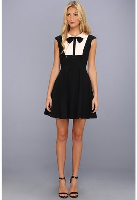Ted Baker Nitcha Bow Collar Dress (Black) - Apparel