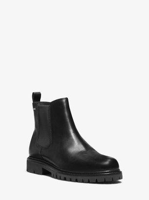 Michael Kors Hudson Leather Boot