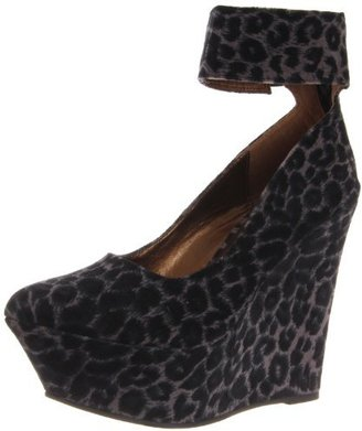C Label Women's Maggie-1 Wedge Pump