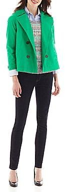 JCPenney jcpTM Oxford Shirt, Sweater, Jeans or Cropped Trench Coat