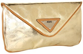 XOXO Starlet Clutch (Gold) - Bags and Luggage