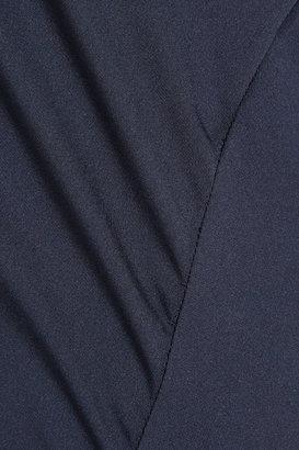 Vionnet Asymmetric stretch-silk gown