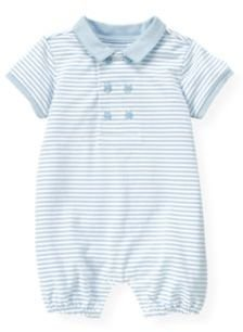 Janie and Jack Stripe Polo Bubble