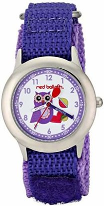 "Red Balloon Kids' W000333 ""Love Owl"" Stainless Steel Watch"