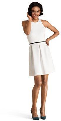Donna Morgan Back Cutout Fit & Flare Dress