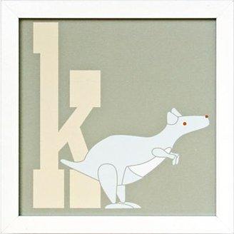Framed Letter K