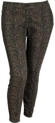 Old Navy Women's Plus The Rockstar Printed Jeans