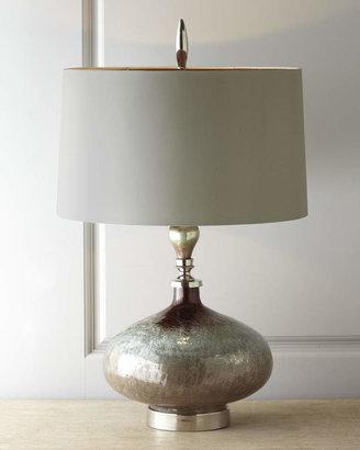 "John-Richard Collection Rainwater on Glass"" Table Lamp"