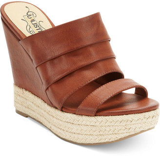 Over the Edge Unlisted Shoes, Platform Wedge Sandals