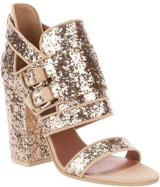 Givenchy Glitter block heel sandal