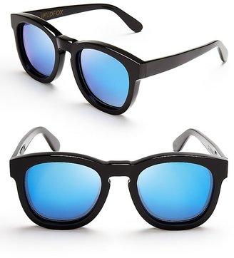 Wildfox Couture Classic Mirror Fox Sunglasses