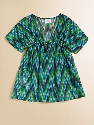 Milly Minis Toddler's & Little Girl's Zigzag Coverup